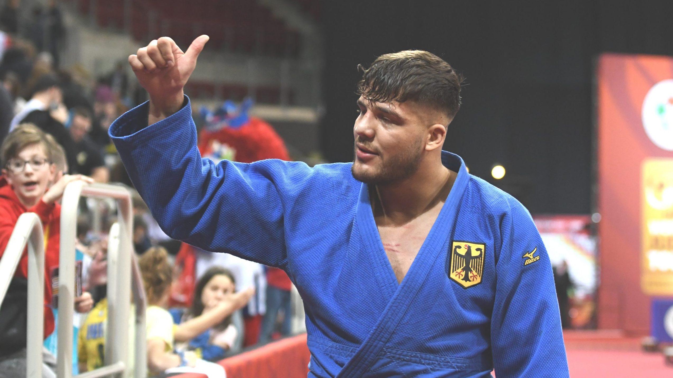 Frey: Olympia ist mein großer Traum*Judoka holt Bronze bei Vorbereitungsturnier