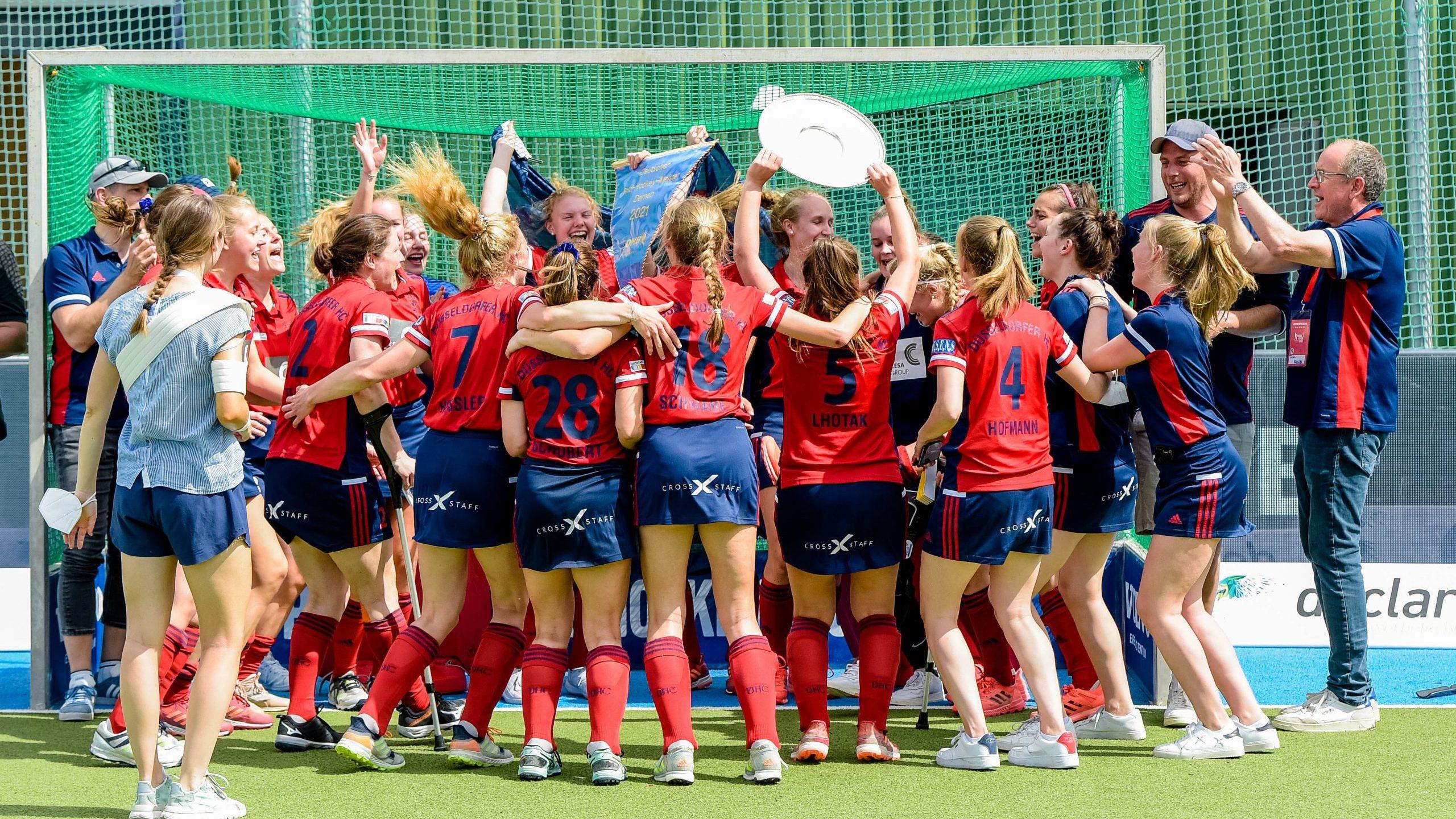 Die Krönung des DHC*Hockey-Damen holen Deutscher Meistertitel