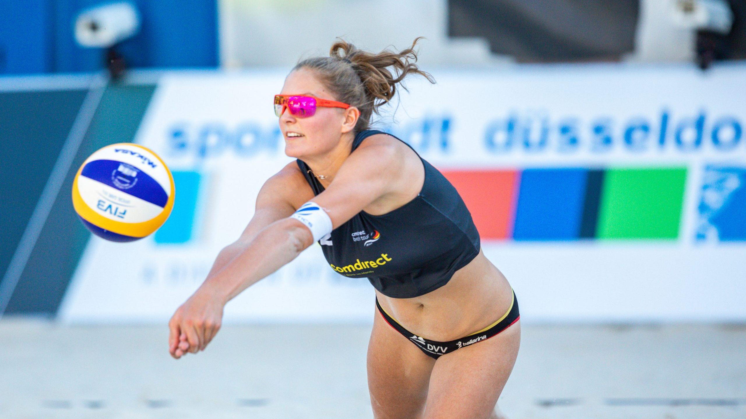 Finalpremiere für Sarah Schulz*Beachvolleyball: DM-Qualifikation in Düsseldorf