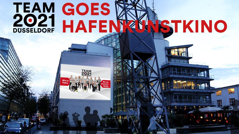 Tokio-Feeling zum Mitfiebern im Hafenkunstkino*Athleten:innen des TEAM 2021 Düsseldorf starten ab Freitag bei den Sommerspielen