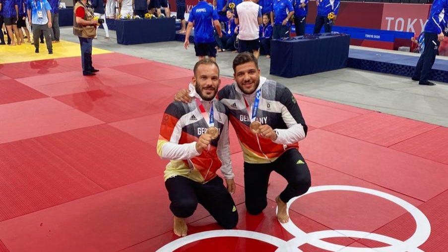 Glänzender Judo-Erfolg*Bronze für Johannes Frey im Mixed-Team